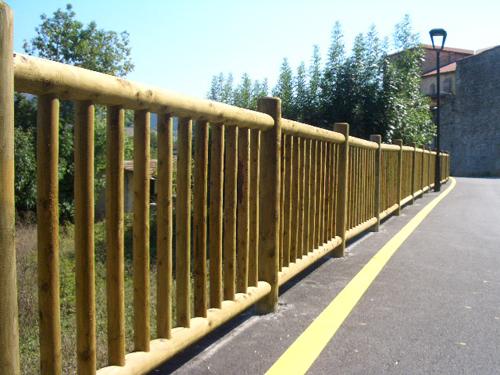 Vallados de madera cercados betigor itxiturak - Barandillas madera exterior ...